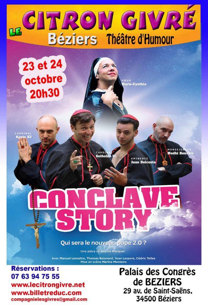 affiche conclave story