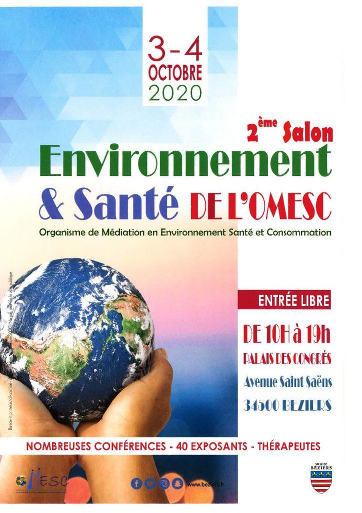 affiche salon environnement santé