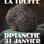 affiche marché de la truffe